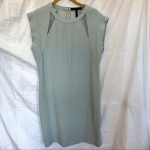 BCBG MaxAzria Powder Blue shift dress